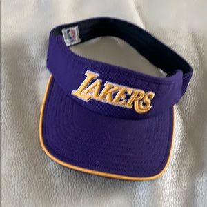 Purple Lakers Visor.  One size fits all.